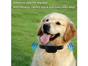 Automatic Anti-bark Collar No Bark Dog Pet Training Intelligent Ultrasonic, Rechargeable