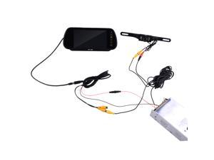 "Car Rearview System - 7"" -inch Security LCD Wide Screen Car Rear View Backup Parking Mirror Monitor + Camera"