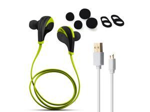 AGPtek Bluetooth 4.0 Noise Cancelling Headphones Earphones with Microphone for iPhone 6, 6 Plus, 5 5c 5s 4 and Android