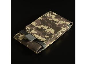 Outdoor Tactical MOLLE hook & loop clip Bag Pouch for most cell phones