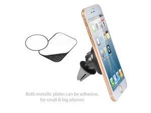 Universal Magnetic Dashboard /Car Air Vent Phone Holder Stand Mount for Cell Phones, iPhone, GPS, MP3 Players - Black