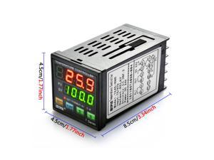 DC 24V Professional Thermostat Digital Temperature Controller, TA4E-RNR, Dual Display , High Accuracy