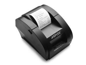 H58 90mm/sec High Speed USB Port POS Thermal Receipt Printer compatible 58mm Thermal Paper Rolls - 90mm/sec High-speed Printing with ESC / POS Print Commands