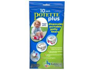On the Go Potty 10 Pack Liner Re-Fills