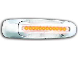Dodge 2002-2006 Dodge PU/ Pick up / Ram LED Door Handle, Front, Chrome (2ps/set) Amber LED/Clear Lens RH No Key Hole IPCW 1 pair