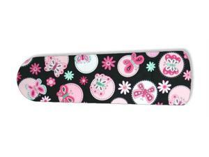 "Pink Butterfly Black Butterflies 52"" Ceiling Fan BLADES ONLY"