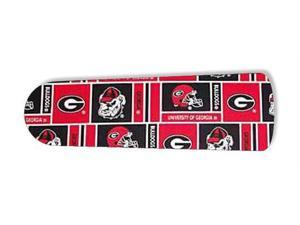 "Georgia Bulldogs 42"" Ceiling Fan BLADES ONLY"