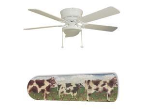 """Farm Kitchen Cows 52"""" Ceiling Fan BLADES ONLY"""