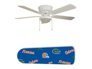 "Florida Gators 52"" Ceiling Fan with Lamp"