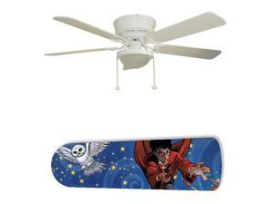 "Harry Potter Wizard 52"" Ceiling Fan with Lamp"