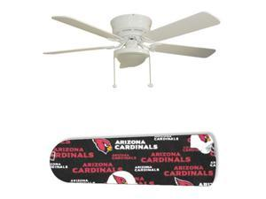 "Arizona Cardinals 52"" Ceiling Fan with Lamp"