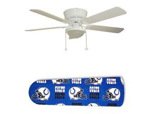 "Indianapolis Colts 52"" Ceiling Fan with Lamp"