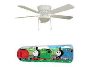 """Thomas the Train 52"""" Ceiling Fan with Lamp"""