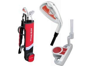 Young Gun Birdie Red Junior Golf Club Set with Bag, Ages 9-11 RH