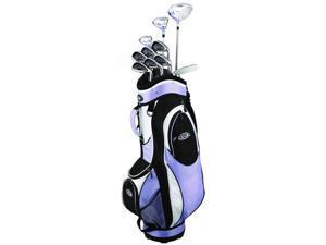Golf Girl FWS2 Lady Hybrid Club Set & Cart Bag - Lilac