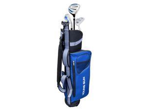 Young Gun EAGLE BLUE Junior golf club set & bag for kids Ages 6-8 RH