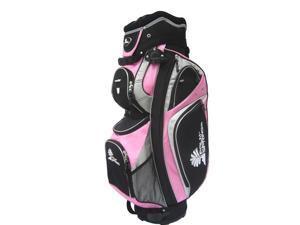 PALM SPRINGS GOLF 14 Divider Cart Bag - Pink