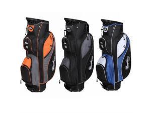 Confidence Golf Pro II 14 Divider Cart Bag - Orange