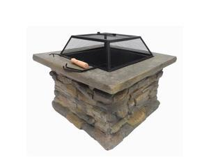 Palm Springs Outdoor Stone Fire Pit