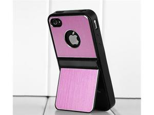 Hard Back Cover Case Skin for iPhone 4/4S (Pink)