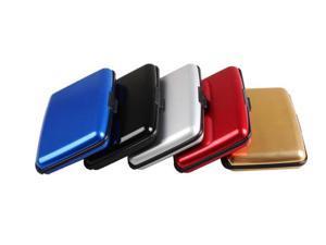 GPCT Aluminum RFID Blocking Credit Card Case Wallet Waterproof Black