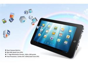 "Kocaso M772 7"" Android 4.1 Tablet PC - 1.6GHz Dual-Core Processor, 8GB, 1024 x 600 (Silver)"