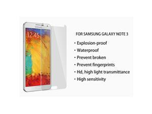 Premium Tempered Glass Waterproof Anti-fingerprint Screen Protector for SAMSUNG Galaxy Note 3