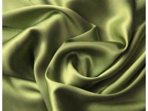 Silk~Y Satin Lingerie Bed Sheet Set Queen Sage Green