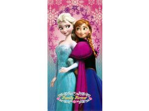 Disney Beach Towel Frozen Anna & Elsa Bath Towel 100% Cotton-Family Forever