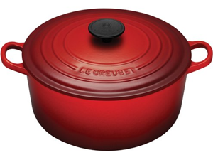 Le Creuset 5.5-qt. Round Cast-Iron Signature Enameled French Oven, Cherry