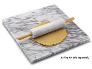 RSVP International 18x18-in. Marble Pastry Board