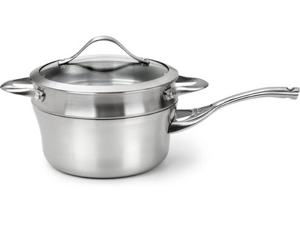 Calphalon 2.5-qt. Stainless Steel Contemporary Stainless Saucepan with Double Boiler