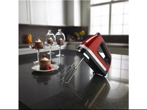 美國 KitchenAid KHM920CA 九段速手持式打蛋器 ( 蘋果紅 )
