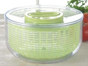 Zyliss 10.25-in. Easy Spin Salad Spinner, Green