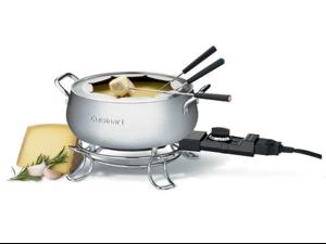 Cuisinart/Waring CFO-3SS Electric Fondue Set - 3-Quart Electric