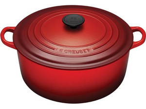 Le Creuset 7.25-qt. Round Cast-Iron Signature Enameled French Oven, Cherry
