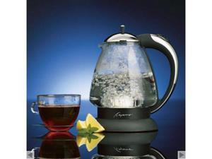 Jura-Capresso 1.5-qt. H20 Plus Glass Water Kettle, Stainless/Black