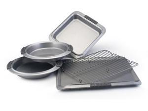 Anolon 5-pc. Nonstick Advanced Bakeware Bakeware Set with Silicone Grips