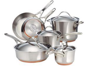 Anolon 10-pc. Nouvelle Stainless Cookware Set