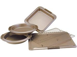 Anolon 5-pc. Nonstick Bronze Collection Bakeware Bakeware Set