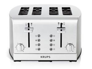 Krups 4-slice Signature Series Stainless Steel Toaster