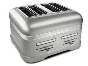 KitchenAid 4-slice Pro Line Toaster - Sugared Pearl Silver