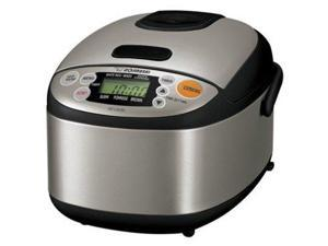 Zojirushi 3-c. Micom Rice Cooker & Warmer, Black & Stainless Steel