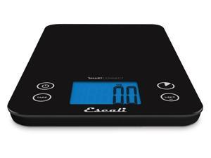 Escali SmartConnect Kitchen Scale, Black