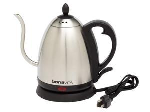 Bonavita 1-L. Stainless Steel Gooseneck Electric Kettle