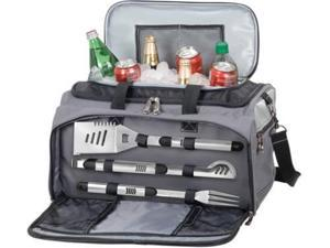 Picnic Time Buccaneer Travel Cooler with Grill and BBQ Tools