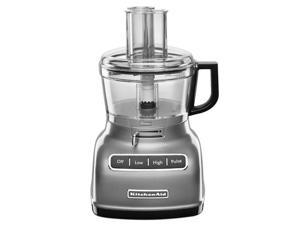KitchenAid 7-c. Food Processor with ExactSlice, Contour Silver