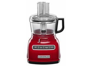KitchenAid 7-c. Food Processor with ExactSlice, Empire Red