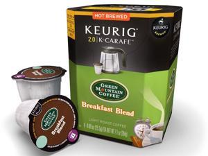 Green Mountain Coffee 8-ct. K-Carafe Coffee, Breakfast Blend