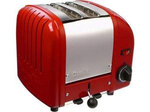 Dualit 2-slice Classic Toaster, Red
